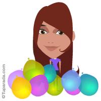 Imagen con globos