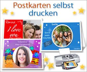 postkarten und geschenkanh nger selbst drucken printkarten gedruckte postkarten. Black Bedroom Furniture Sets. Home Design Ideas