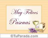 Tarjetas postales: Muy felices Pascuas para el espíritu