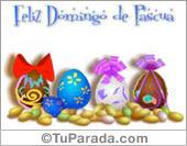 Pascua - Tarjetas postales: Huevos de Pascua