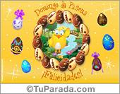 Tarjeta - Tarjeta de Pascua