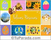 Tarjetas postales: Tarjeta de Felices Pascuas