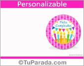 Velas de cumpleaños personalizable