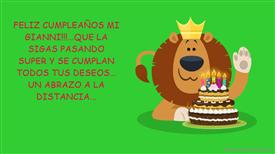Tarjetas, postales: Cumpleaños