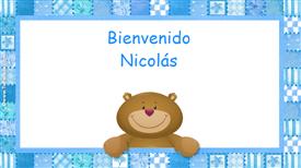 Tarjetas, postales: Nicolás