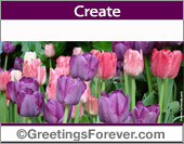 Greeting ecards: Flowers