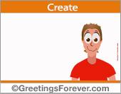 Create Humor ecard