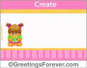 Create Baby ecard