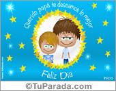 Día del padre - Tarjetas postales: Postal para el día del padre