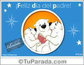 Tarjeta - Feliz día del padre