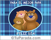 Tarjetas, postales: Día del padre