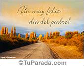 Tarjetas postales: Felicidades papá