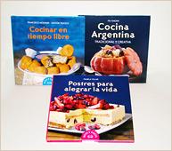 Tres libros para todos los paladares.