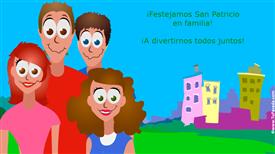 Tarjetas, postales: San Patricio