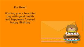 Ecards: For Helen