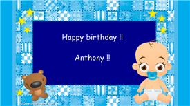 Ecards: Anthony