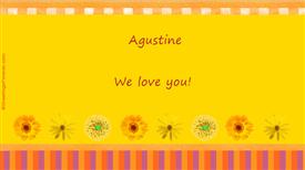 Ecards: Agustine