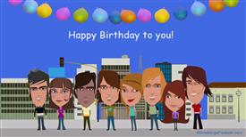 Ecards: Happy Birthday to you!