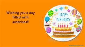 Ecards: Birthday ecard with warm wishes