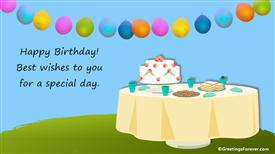 Ecards: Birthday Celebration