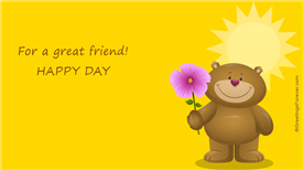 Ecards: For a great friend