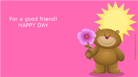 Ecards: For a good friend