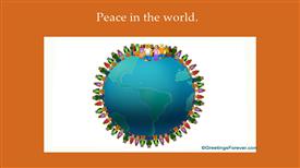 Ecards: Peace