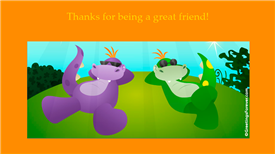 Ecards: To a great friend