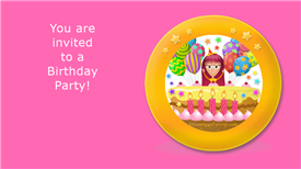 Ecards: A birthday party