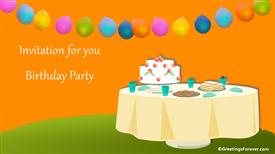 Ecards: Birthday Party