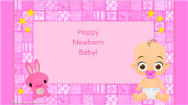 Baby ecard