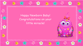 Ecards: Little miracle
