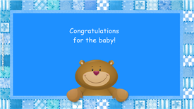 Ecards: Congratulations for the baby