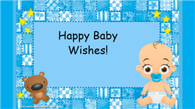 Ecards: Happy Baby Wishes