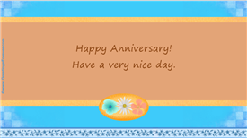 Ecards: Happy Anniversary day