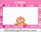 Special ecard in pink