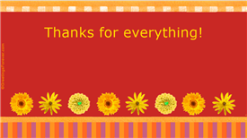 Ecards: Thanks for everything