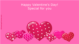 Ecards: Happy Valentines Day special for you