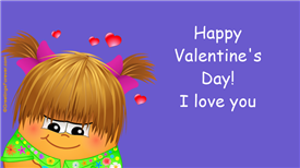 Ecards: I love you, Valentines day