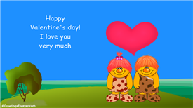 Ecards: I love you very much