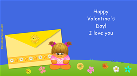 Ecards: I love you and happy day