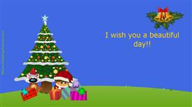 Ecards: I wish you a beautiful day