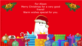Ecards: For Alison