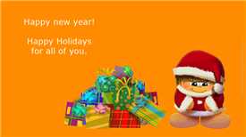 Ecards: Happy holidays for all of you