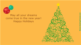 Ecards: May all your dreams come true