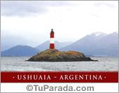 Tarjeta - El faro - Ushuaia - Argentina