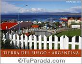 Tarjeta - Ushuaia - Tierra del Fuego