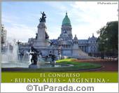 Tarjeta - Foto del Congreso