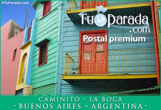 Tarjeta - Caminito - Buenos Aires