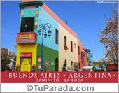 Tarjeta - Caminito - La Boca - Argentina